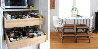 If you think you don't have space for an island, spice rack, or extra  chairs, you're wrong.