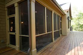 screened in deck. EXOVATIONS® Screened Porch Haddad Home - AFTER Photo In Deck M