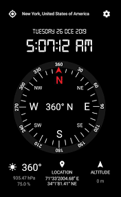 This app featured a simple to use interface, a dampened card that swings naturally. Gps Compass App Free Navigation Compass 360 For Android Apk Download