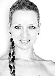 Images Gratuites Noir Et Blanc Femme Cheveux Portrait