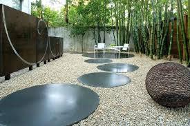 garden art furniture concrete landscape modern with wall patio lisbon
