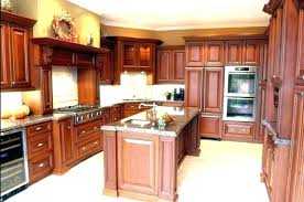 wood kitchen cabinets with white island floors solid shaker cabinet doors
