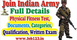 Height And Weight Chart For Indian Army Punjab Jobs Join Indian Army Qualification Age Height