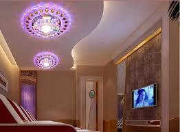 modern spot lighting. 3W Modern Brief Led Crystal Living Room Spot Lighting AC85-265V Corridor Balcony Lamp For O