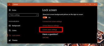 how to automatically lock windows 10