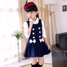 <b>New 2015 autumn winter</b> girls sleeveless dress teenage girls cotton ...