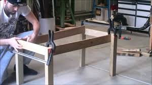 s scustoms woodwork build a coffee table using s wood part 1 legs you