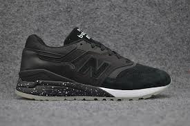 fashion new balance ml997hba d retro leather classic tennis shoes black men s women s training shoes