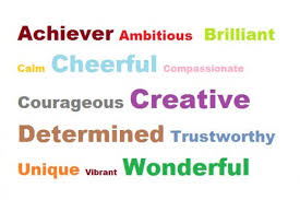 Words To Describe Myself
