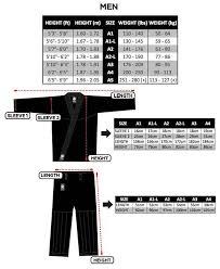 Exact Fuji Judo Size Chart 2019