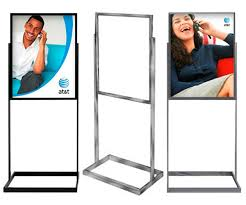 Display Stands For Pictures Indoor Sign Display Stand Heavy Base style IS100 49