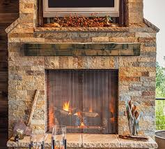 Top image. Rustic Mantel Shelf Designs