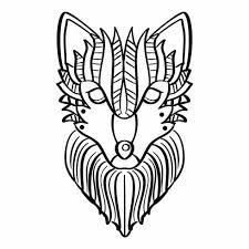 Wolf Kleurplaat Download Gratis Vectorkunst En Andere