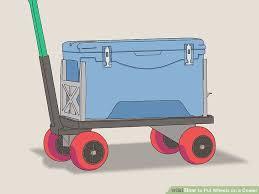 image titled put wheels on a cooler step 8