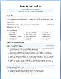 Medical Billing Resume Template Beauteous Medical Assistant Resume Template Free Resume For Medical Sales