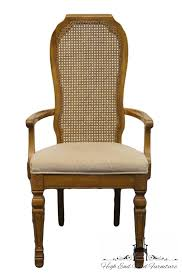 High End Used Furniture BERNHARDT French Regency Style Cane Back Dining  Chairs Repair Regency Style Furniture46