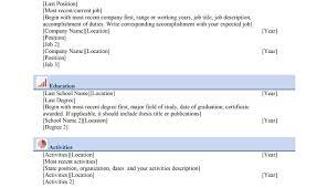 Resume Current Job Eliolera Com