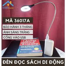 Đèn led đọc sách ️Cổng USB cắm Máy tính-Pin sạc️ tiện lợi đèn bàn học cho trẻ  em mã 36017 chính hãng