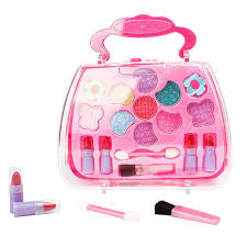 details about kids s play pretend make up toy beauty cosmetic kit birthday christmas gift