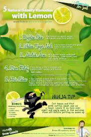 5 Natural Beauty Recipes With Lemon