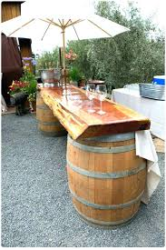 whiskey barrel bar table whiskey barrel furniture whiskey barrel decor best wine barrel table ideas on