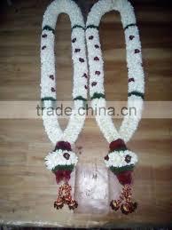 Indian Wedding Malai New Design Jasmine Or Malligai Poo Malai Exporter In Indian Madurai Of