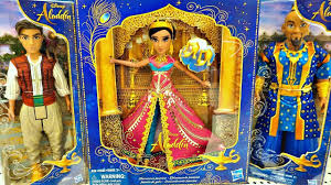 Disney Aladdin 2019 Vlog New Toys Dolls Jasmine Genie Magic Lamp