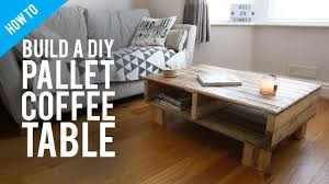 Console Table How To Build Diy Rustic Pallet Coffee Table Youtube How To Build Diy Rustic Pallet Coffee Table Youtube