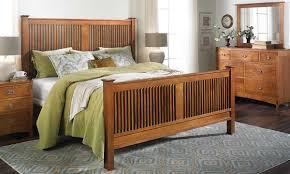 Mennonite Bedroom Furniture Mission Bed Dresser Mirror Queen Haynes Furniture