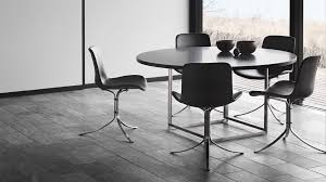 furniture poul kjaerholm pk54. PK9 Chair In Black Leather Along With The PK54 Table, Both Designed By Poul Kjærholm Furniture Kjaerholm Pk54 I
