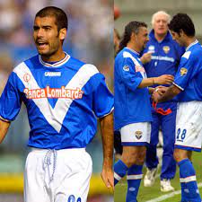 Forza Serie A - 2001, PEP GUARDIOLA signs for Brescia as a...