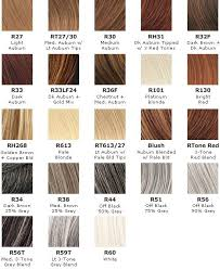 Raquel Welch Wigs Color Chart Colorsilk Hair Color Chart Estetica Color Chart Hair