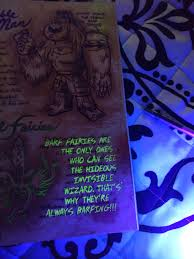 Journal 3 Special Edition Black Light That Mows Like A Harvest Journal 3 Blacklight Edition