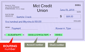 313187649 — Routing Number of Mct Credit Union in Port Neches