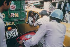 postmodernism recent developments in art in essay  taxi driver and pedestrian argue chitpur road calcutta