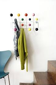 cool wall hook ideas home accessories adorable double coat hanger and hat hook with colorful beaded cool wall hook