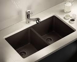 802 Mocha Double Equal Bowl Trugranite Kitchen Sink