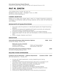 International Sales Representative Sample Resume International Sales Representative Sample Resume Shalomhouseus 5