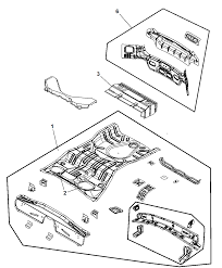 2010 dodge caliber rear floor pan