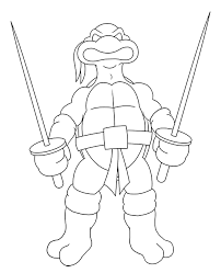 Small Picture Ninja Turtles clipart easy draw Pencil and in color ninja