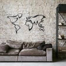 wall art for the office. Image Is Loading Metal-World-Map-Wall-Art-Decor-Office-Home- Wall Art For The Office U