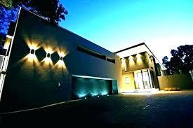 modern outdoor wall lights australia lighting solar mounted exterior wal
