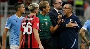 Milan-Lazio 2-0, Sarri: «Non abbiamo giocato come volevo. Immobile? È  inattaccabile, i numeri parlano per lui»