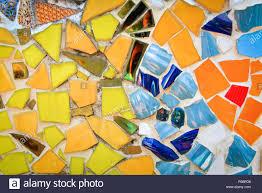 Mosaic Design Mosaic Background Ceramic Tiles Background Colorful