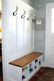 Coat And Shoe Rack Hallway Vancouver Expressions French Grey Hall Tidy With Bench Shoe Coat And 17