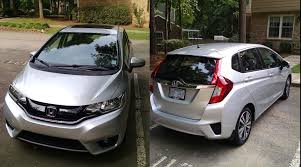 honda fit 2016 vs 2015. 2015 honda fit ex in alabaster silver back and front views 2016 vs i