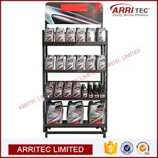 In Store Display Stands Supermarket Energy Fuel Oil Rack Lubricant Store Display Stand 88
