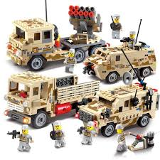 military truck bricks sets legoings diy educational toys chariot tank brinquedos for children military vehicles jeep car vehicle malaysia