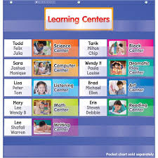 Learning Center Pocket Chart Learning Centers Pocket Chart Add Products Scholastic