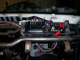 ultimate wire tuck guide page 5 nissan forum nissan forums relocated fusebox relays mounted on underside